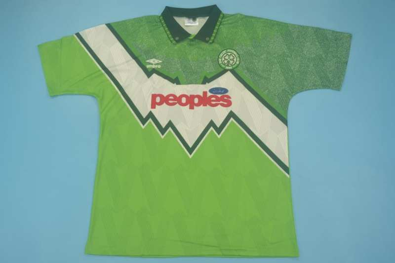 AAA(Thailand) Celtic 1991/92 Away Retro Soccer Jersey