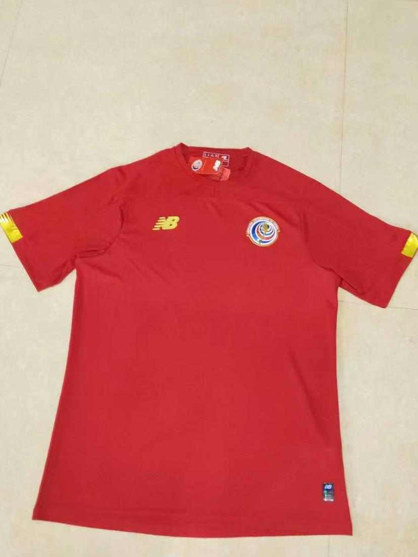 AAA(Thailand) Costa Rica 2019/20 Home Soccer Jersey