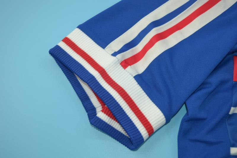 AAA(Thailand) France 1998 Retro Home Soccer Jersey