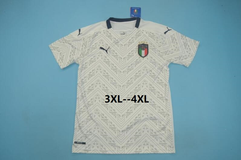 AAA(Thailand) Italy 2020 EURO Away Soccer Jersey(Big Size)
