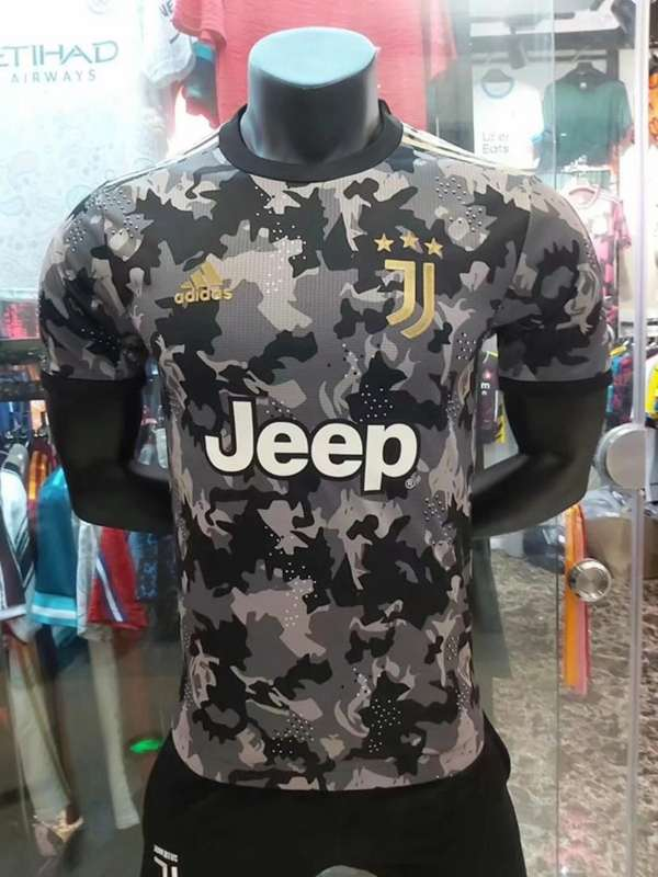 AAA(Thailand) Juventus 20/21 Camouflage Soccer Jersey (Player)