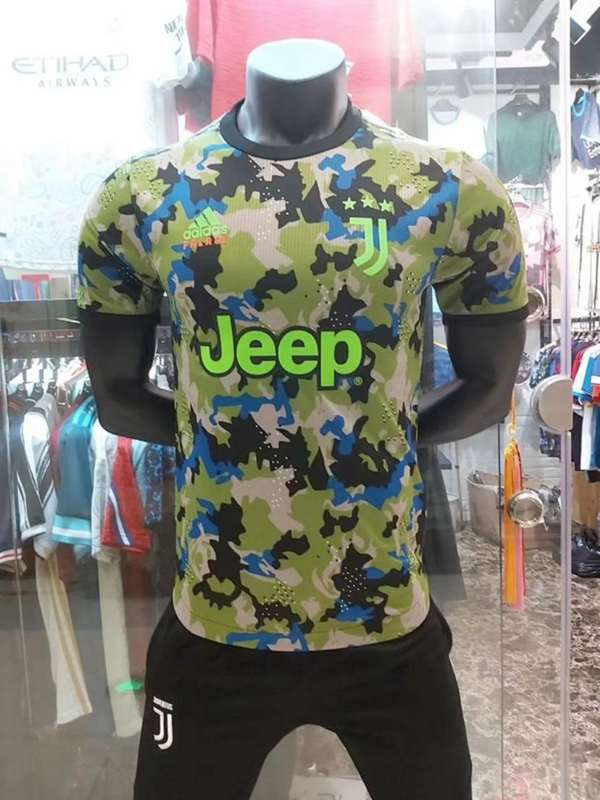 AAA(Thailand) Juventus 20/21 Camouflage Soccer Jersey (Player) 2