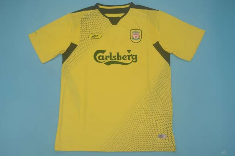 AAA(Thailand) Liverpool 2004/05 Away Retro Soccer Jersey