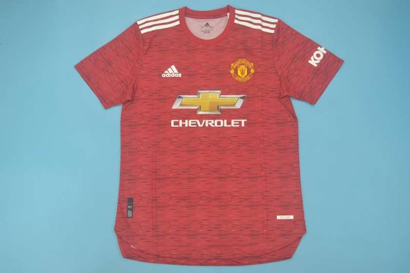 AAA(Thailand) Manchester United 20/21 Home Soccer Jersey(Player)