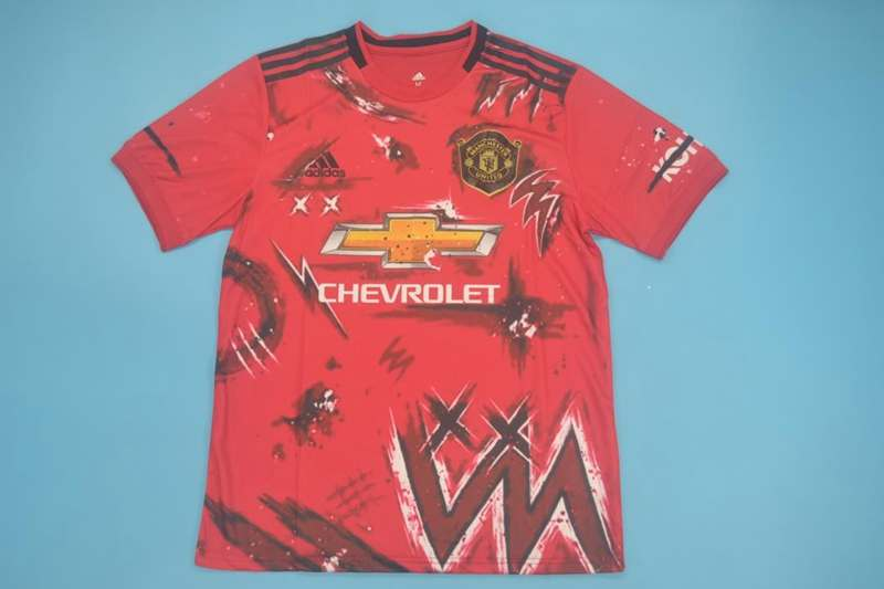 AAA(Thailand) Manchester United 20/21 Training Red Jersey 02
