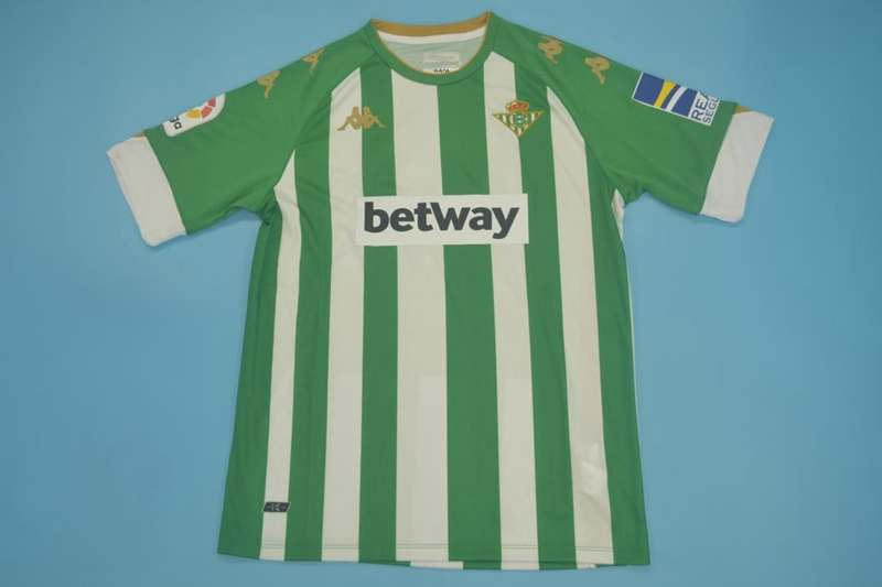 AAA(Thailand) Real Betis 20/21 Home Soccer Jersey