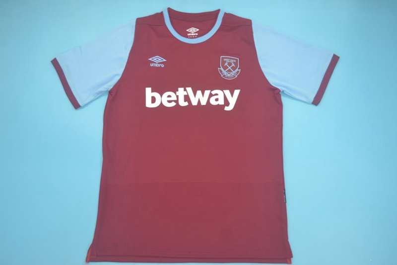 AAA(Thailand) West Ham United 20/21 Home Soccer Jersey
